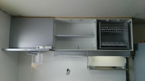豊ヶ丘N様キッチン施工中20150806