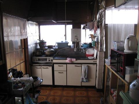 建邸 キッチン施工前